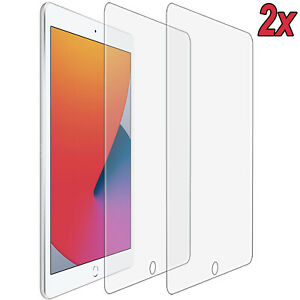2x 9H Hartglas iPad 10.2 (2019/2020) Schutzglas Echtglas (7. 8.Gen) Full-Screen