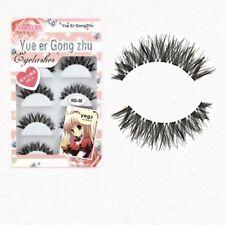5 Pairs Fashion Natural Long Cross Extension Eye Lashes Cosmetic False Eyelash