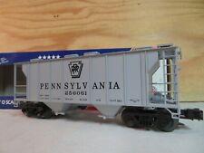 WEAVER TRAIN 34' PS-2 PRR PENNSYLVANIA COVERED RAILROAD HOPPER CAR 256061