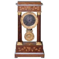 Very Fine circa 1838 French Empire Paris Portico Clock with Provenance