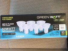 (6-Pack) LED DAYLIGHT Bulb DIMMABLE MR16 GU10 Flood 50-Watt = 7W 500 lumen