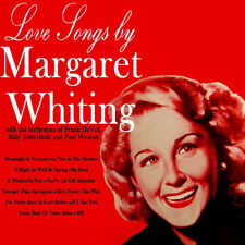 "Margaret Whiting Love Songs 12""33rpm 1984 UK reissue mono Capitol Records (nm)"