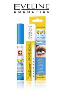 EVELINE SERUM 8in1 Eyelash Total Action Therapy Mascara Intensive Lash Care 10ml