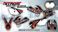 NitroMX Graphic Kit for KTM SX 85 SX85 2006 2007 2008 2009 2010 2011 2012 Decals