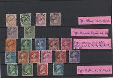1922-1947 - Timbres préoblitérés neufs avec charnière sauf 68 obl. (06-042.17)