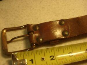 "Vintage Western Cowboy WAIST AMMO BELT fits 22 ammo & holster 32-1/2"" - 37-1/2"""