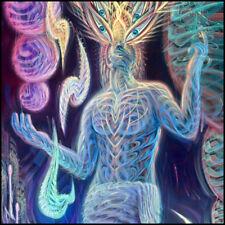 "Dennis Konstantin Bax Poster | ""Heaven & Hell"" | Visionary Psychedelic Art"