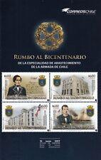 Chile 2017 Brochure - Chilean Navy - Rumbo al Bicentenario - NO STAMPS