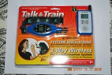 New listing New Talk and Train 2-Way Wireless Pet Training Collar 2 Mile Range Lost Dog Vet