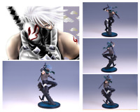 Anime Naruto Shippuden Dark part Kakashi PVC Action Figure Figurine Toy Gifts