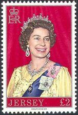 Jersey 1976 Queen Elizabeth II/QEII/Royalty/Coats of Arms high value 1v (n22220)