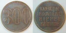 300 Pfennig Schiffsgeld Kreuzer Admiral Hipper 300 Pfennig, ss-vz