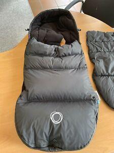 Bugaboo Fußsack, Sitzsack 2 Decken schwarz