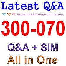 Cisco Best Practice Material For 300-070 Exam Q&A PDF+SIM