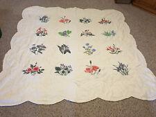 """Homemade Full/Queen size quilt 82"""" X 85"""""""