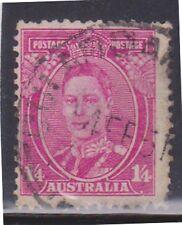 (K96-107) 1937 AU 1/4d Magenta KGVI (DC)