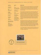 #4145 $16.25 Marine One USPS #0721 Souvenir Page