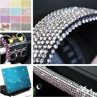 3/4/5/6mm Self Adhesive Diamante Stick Rhinestones Gems Crystals Beads Car