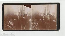 █ Vue Stéréoscopique / Stéréo : 2 photos de famille endimanché █