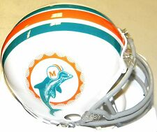 Miami Dolphins 1972 Z2B Riddell NFL Football Replica Throwback Mini Helmet
