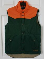 $198 NWT Mens Polo Ralph Lauren Bohemian French Terry Quilted Vest Jacket Green