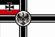 Aufkleber Kaiserliche Marine Reichskriegsflagge 8 x 5 cm Autoaufkleber Sticker