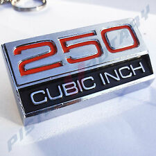 250 CUBIC INCH Guard Badge, BRAND NEW for Ford Fairmont Falcon XY XW Futura GT