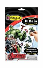Colorforms Craft Kits Brand Avengers On The Go Restickable Set, Nip