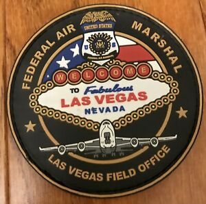 NV Nevada Las Vegas Casino Federal Air Marshal FAM Aviation Police Patch