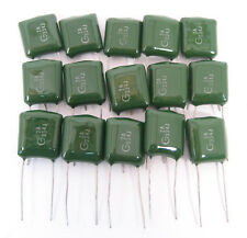 .33uf 100VDC Polyester Film Capacitors: 15/Lot: Great Price
