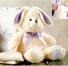 "New Nib Partylite Lavender Bunny Hop Rabbit ""Simply Lavender"" Plush"