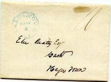 Usa Stampless Cover: 1843 Baltimore to Hagerstown, Md - Business letter - ph91