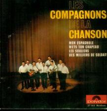 """7"""" compagnons de la chanson/mon espagnole (France-EP)"""