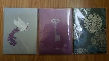 """Set of Three - 5x7"""" Journals/Diaries - NEW - 60 sheets each - Micheals"""