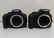 Lot of 2 Canon EOS Rebel T3 DS126291 Digital Cameras AS IS
