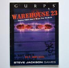 Warehouse 23-GURPS-Steve Jackson Games - 1997