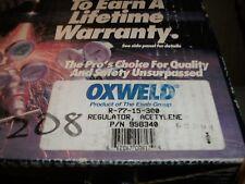 ESAB OXWELD R-77-15-300 ACETYLENE REGULATOR 998340