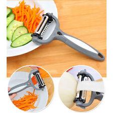 éplucheur 3 en 1 Roto rotatif lame pour burineur ondulés & dentelée facile zeste