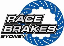 DBA 4000 T3 FORD BA BF FRONT DISC ROTORS AND DBA PAD COMBO FPV GTP FGX 6 PISTON
