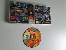 Gundam Battle Assault PS1  (PAL, CIB) - Sony PlayStation 1 / PSX
