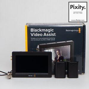 """Blackmagic Design Video Assist 3G-SDI/HDMI 5"""" Recorder/Monitor #00237"""