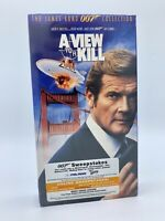 James Bond 007 New Factory Sealed VHS Tape A VIEW TO A KILL Roger Moore Video