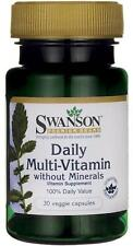 Daily Multivitamin without Minerals x 30 Veg Capsules - 24HR DISPATCH