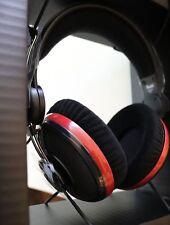 Original Teufel Aureol Real Black-Red Hifi Over-Ear Kopfhörer leicht schwarz rot