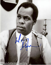 "Danny Glover B&W 10""x 8"" Signed 'Lethal Weapon' Photo - UACC RD223"