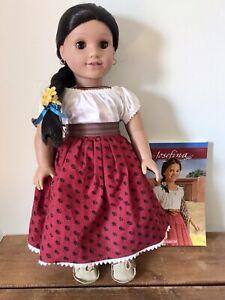 American Girl Josefina Doll in Original Meet Outfit with Book Original Braid