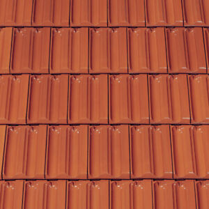 Dachziegel Creaton RATIO Tondachziegel Dach Ziegel Dachpfannen Ton Muster