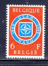 Belgium #720 1969 Nato 20Th Anniv. Mint Vf Nh O.G
