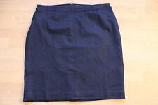 BODEN navy blue modern denim pencil skirt  size 18R  new. WG644