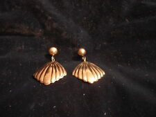 Fashion Jewelry - Silvertone Colored Dangle Style Earrings - Vintage